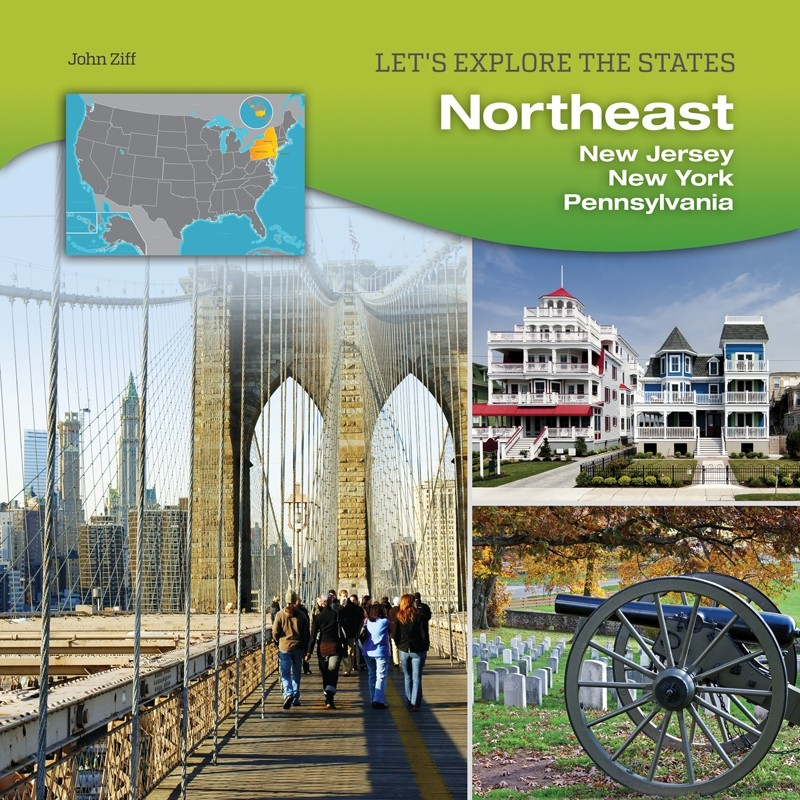 Northeast: New Jersey, New York, Pennsylvania